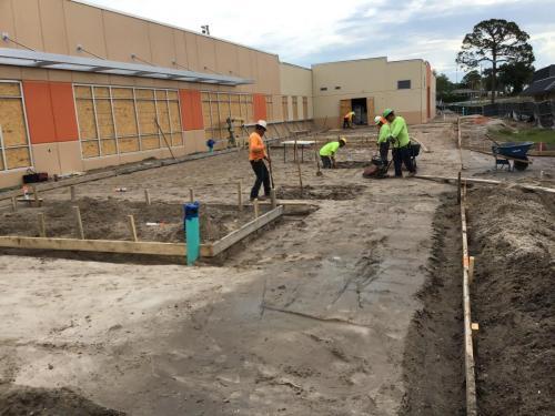 Cocoa High School Bldg. 18 & 34 Renovations